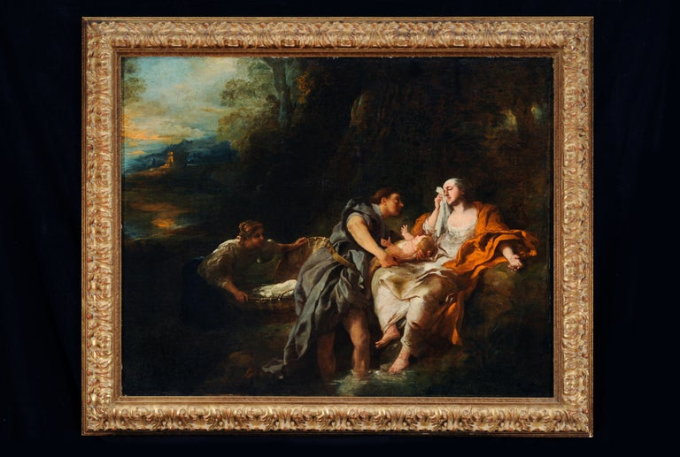 Finding of Moses - Painting by Jean François de Troy