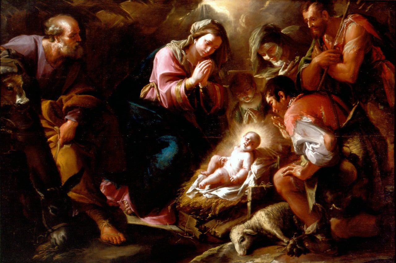 Francesco Antonio Altobello - Adoration of the Shepherds 1