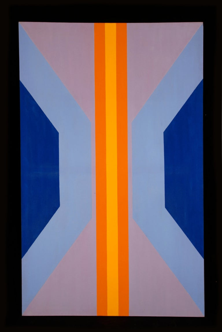 James Hilleary Abstract Painting - Untitled