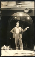 Self Portait under Glass Dome (Cecil Beaton)