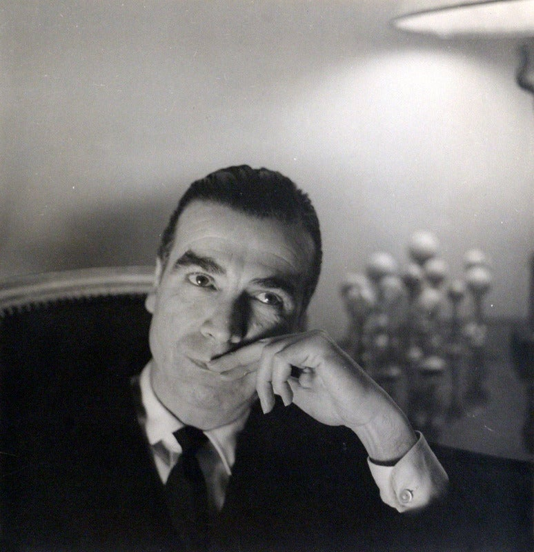 Portrait of Cristobal Balenciaga. FROM THE PRIVATE COLLECTION OF DIANA VREELAND.