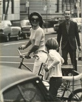 Jackie Kennedy - Ped. Path Central Park.