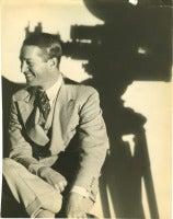 Portrait of Maurice Chevalier.