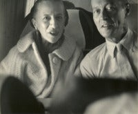 Mr. and Mrs. T.Reed Vreeland. 2 Photographs. DIANA VREELAND PRIVATE COLLECTION.