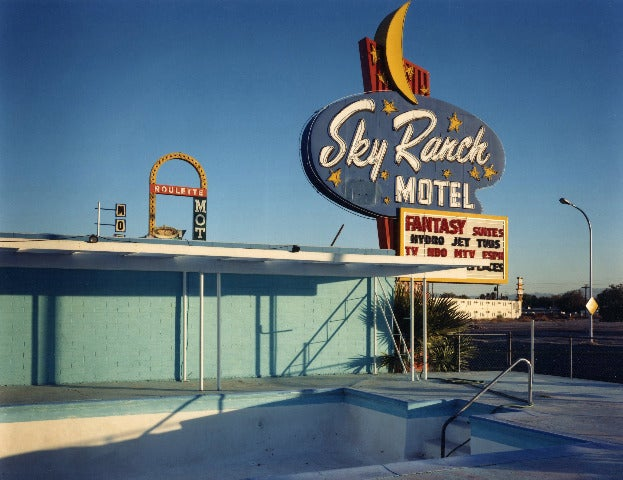 David Graham Sky Ranch Motel Las Vegas Nevada For Sale
