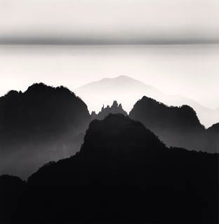Michael Kenna Landscape Photograph - Huangshan Mountains, Study 2, Anhui