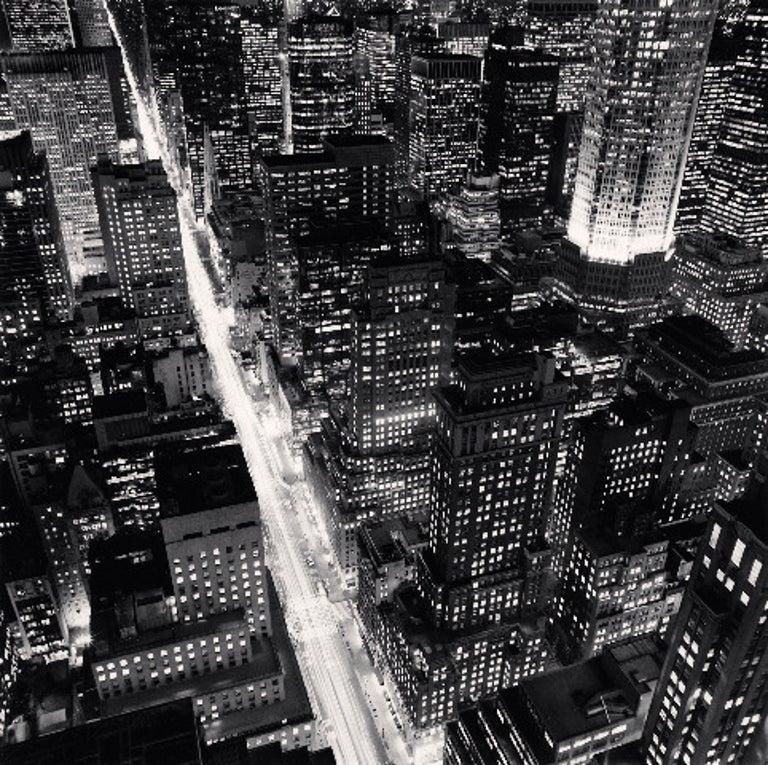 Michael Kenna Landscape Photograph - Fifth Avenue, New York, New York
