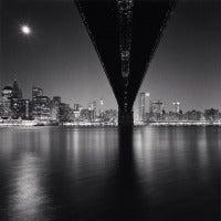 Michael Kenna - Brooklyn Bridge, Study 2, New York