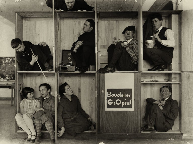 Bauatelier Gropius - Photograph by Edmund Collein