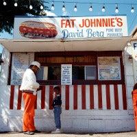 Fat Johnnies Kid with Gun