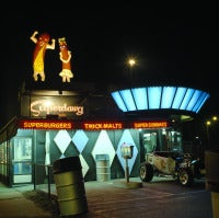 Superdawg's at Night