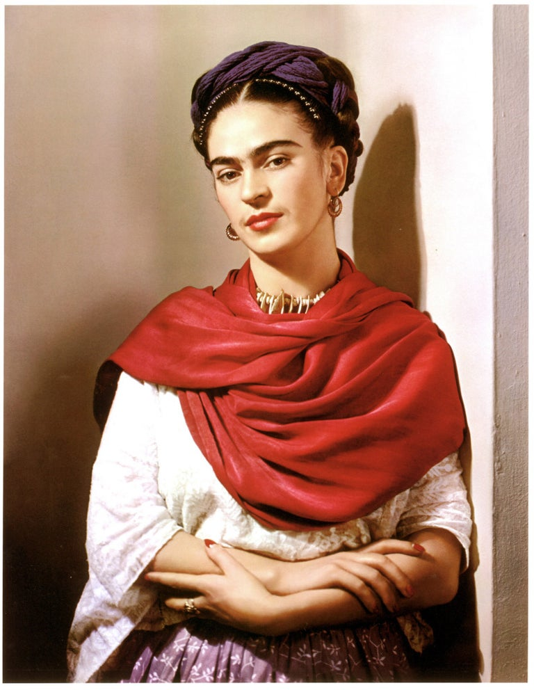 Nickolas Muray Color Photograph - Frida Kahlo