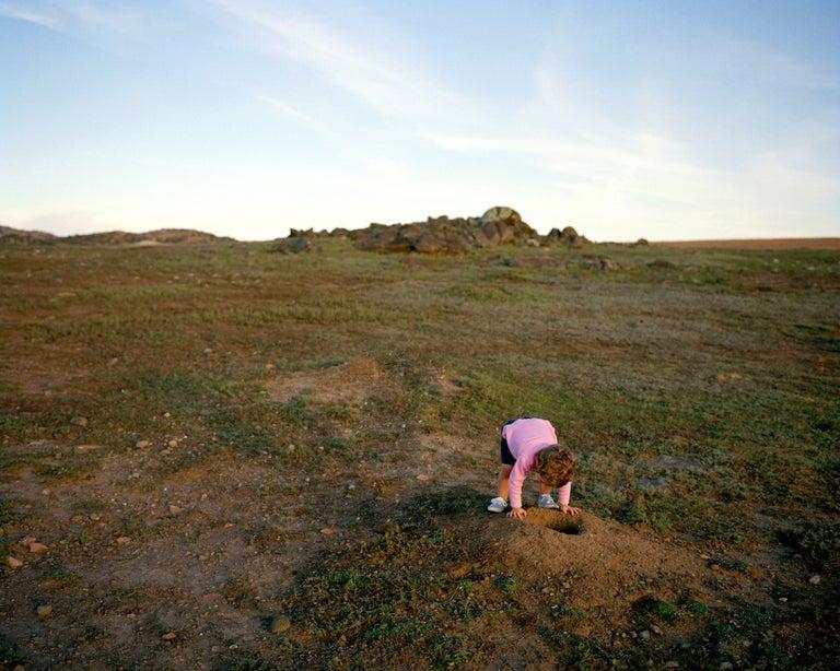 Todd Stewart Landscape Photograph - Prairie Dogs