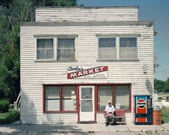 Charlie's Market, Ashby, Nebraska, from West of Last Chance series