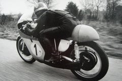 Giacomo Agostini action going away from camera