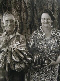 Mr. and Mrs. Andy Bahain, FSA Borrowers on Their Farm Near Kerry, Colorado
