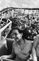 Harold Feinstein - Screaming on The Cyclone, Coney Island
