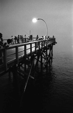 Night Fishing from Pier, Coney Island