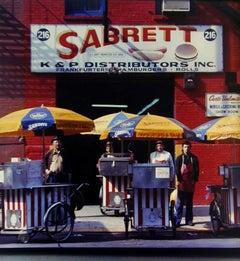 Sabrett Hot Dog Vendors, New York, NY
