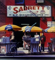 Sabrett Hot Dog Vendors, New York, NY