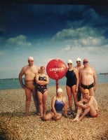 15 July 1984 Channel Swimmers