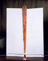 Jacob's ladder on lined paper