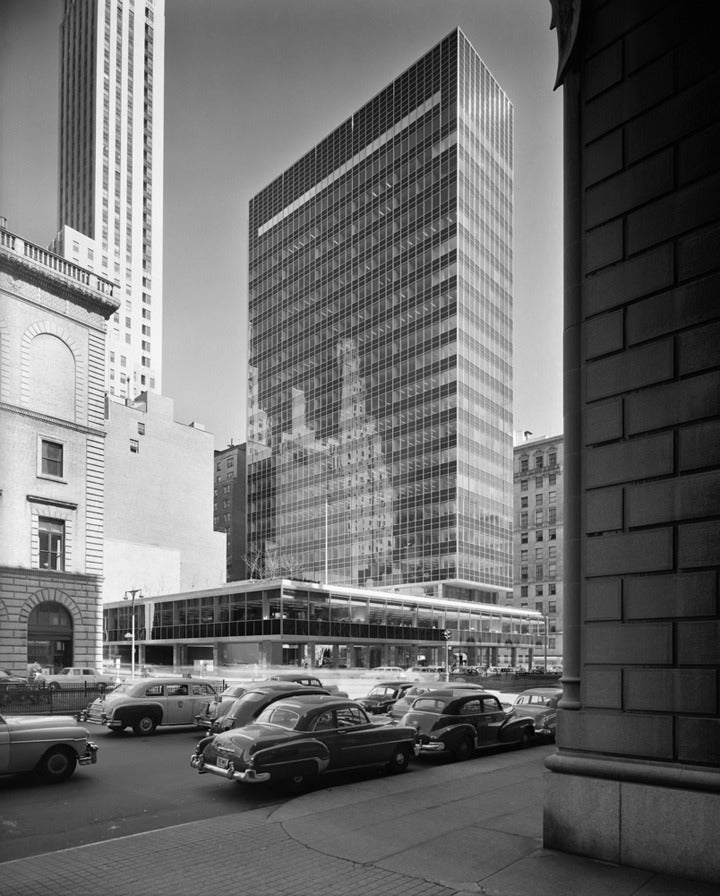 Lever House, Skidmore, Owings & Merrill, New York, NY
