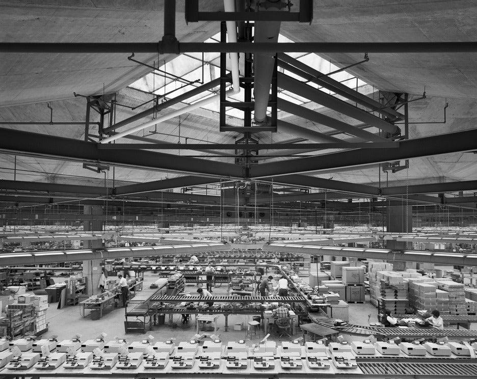 Ezra Stoller Olivetti Underwood Factory Louis Kahn