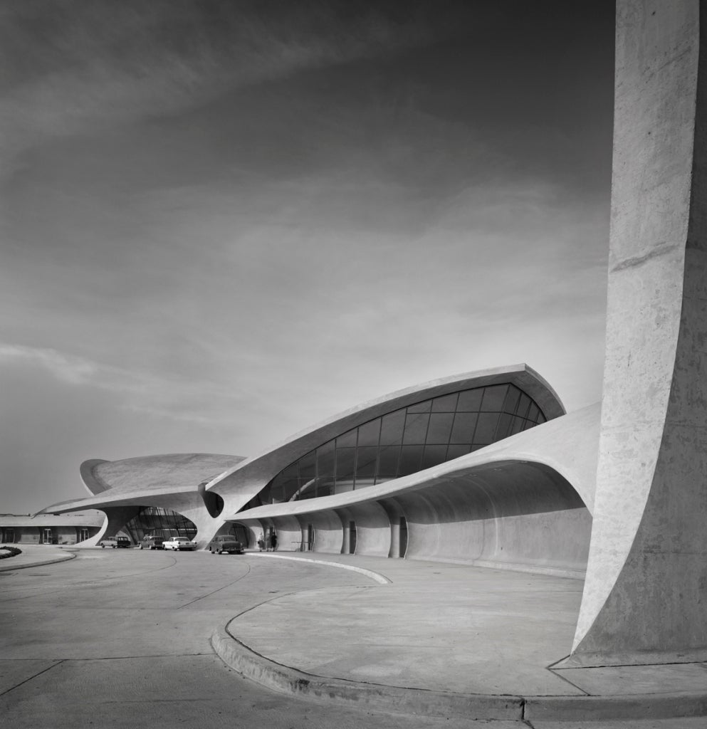 Ezra Stoller - TWA Terminal at Idlewild (now JFK) Airport ...
