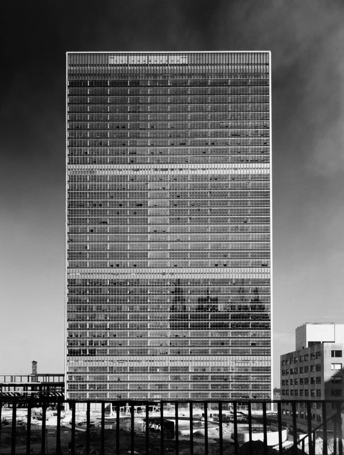 Ezra stoller united nations at 1stdibs for Architecture 1950