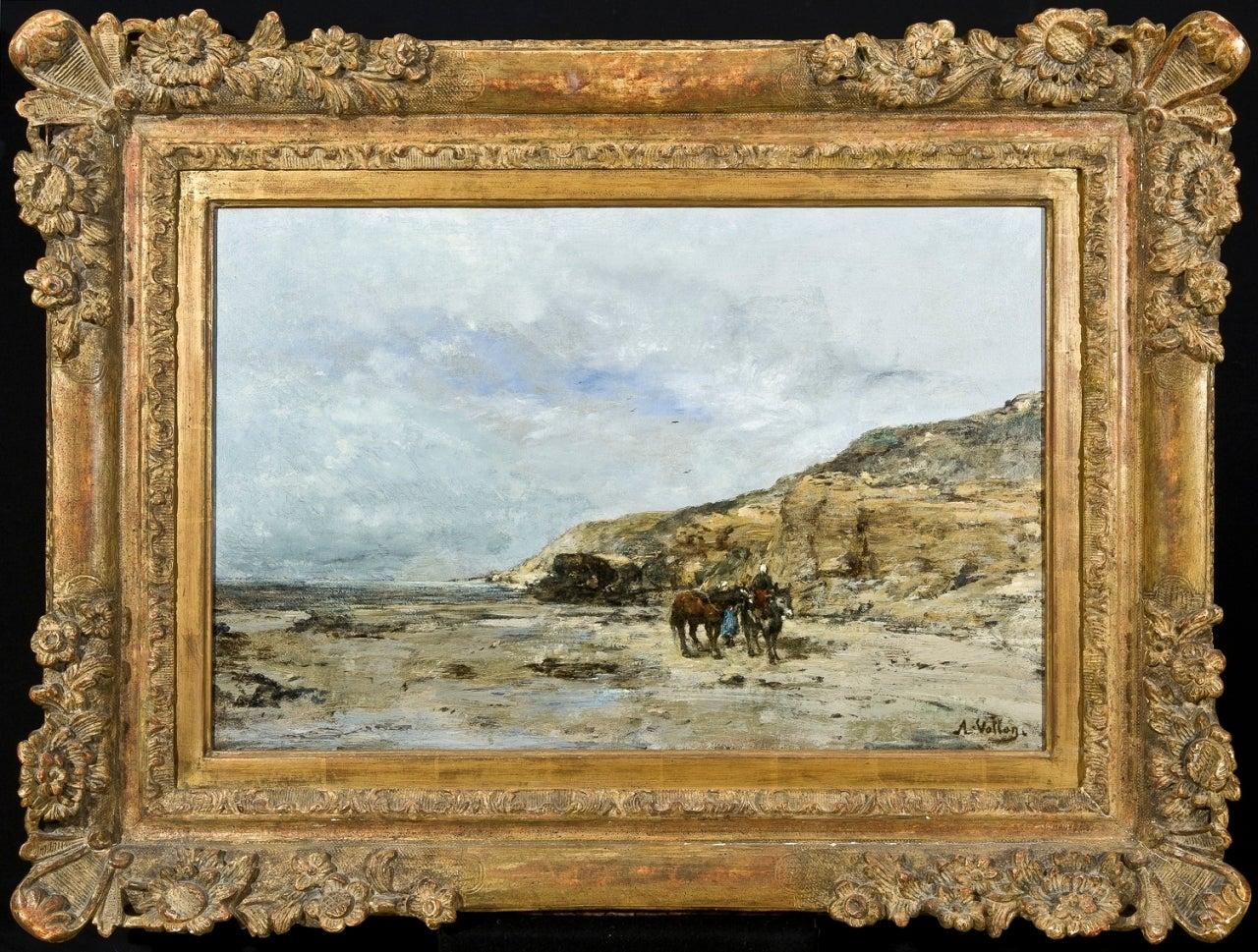 Antoine Vollon Au Bord De La Mer Painting At 1stdibs