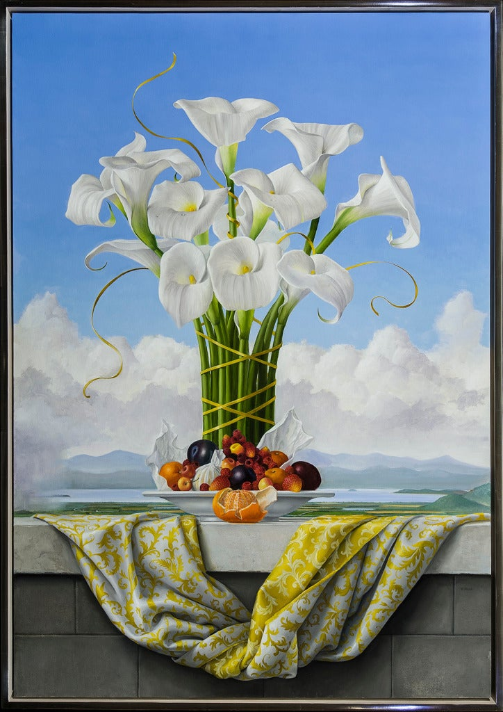 James Aponovich Calla Lilies For Sale At 1stdibs