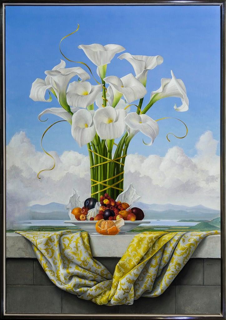James Aponovich - Calla Lilies 1