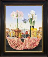 Siena: Still life with Agapanthus