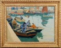Fishing Boats along the Quai