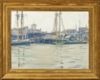 Boats at Harbor, Gloucester