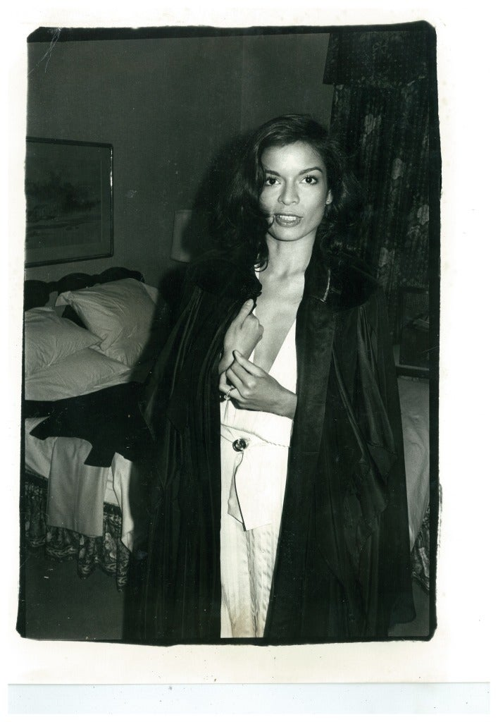 Andy Warhol - Bianca Jagger, Photograph: at 1stdibs