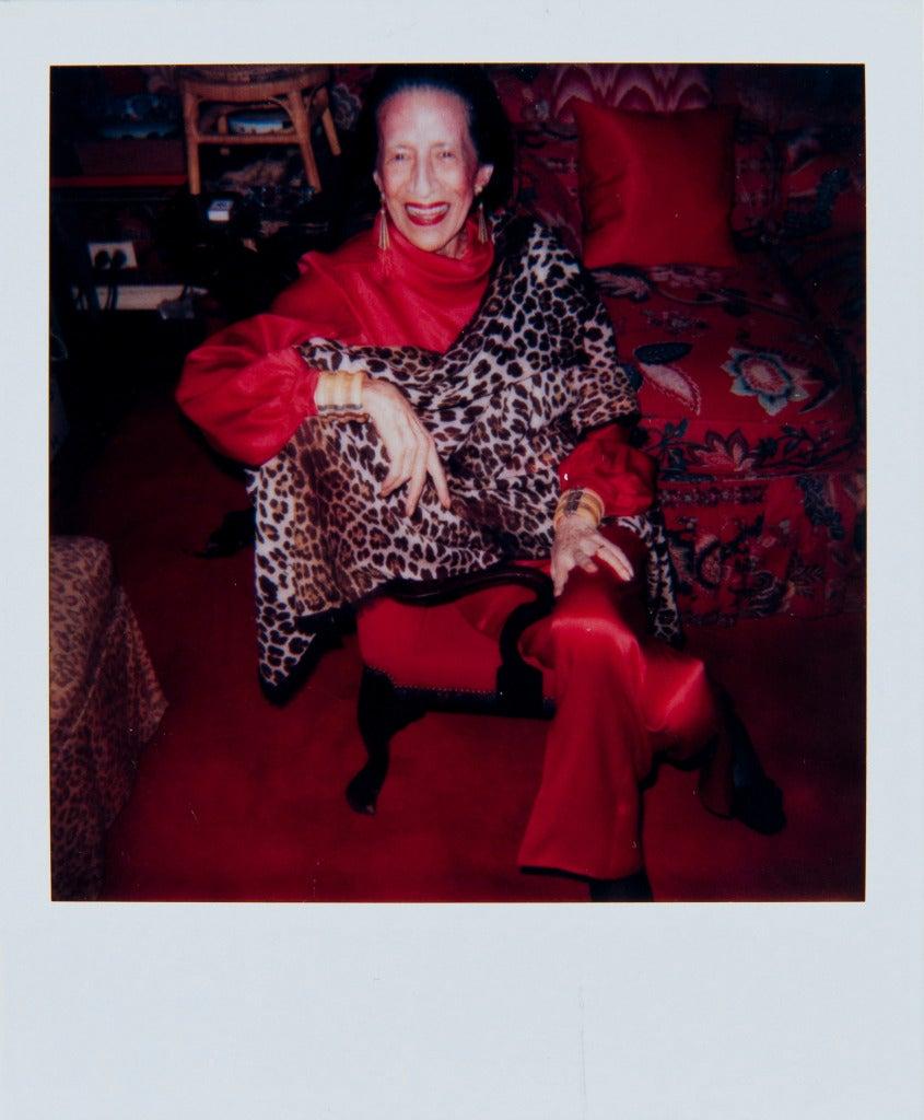 Andy Warhol Portrait Photograph - Diana Vreeland