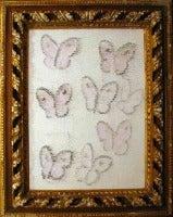 Pink & White Butterflies