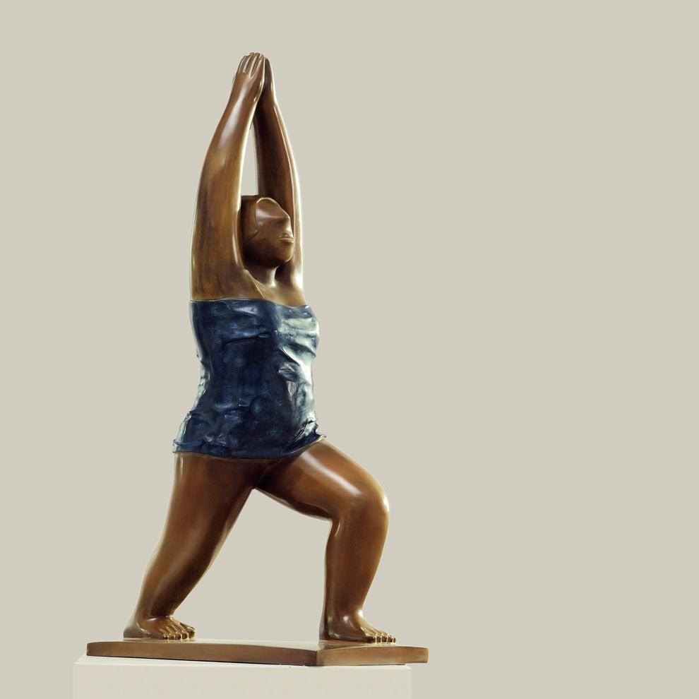 Sculpture, Bronze - Yoga No.1, 2009