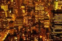 New York at Night - large New York City landscape photography