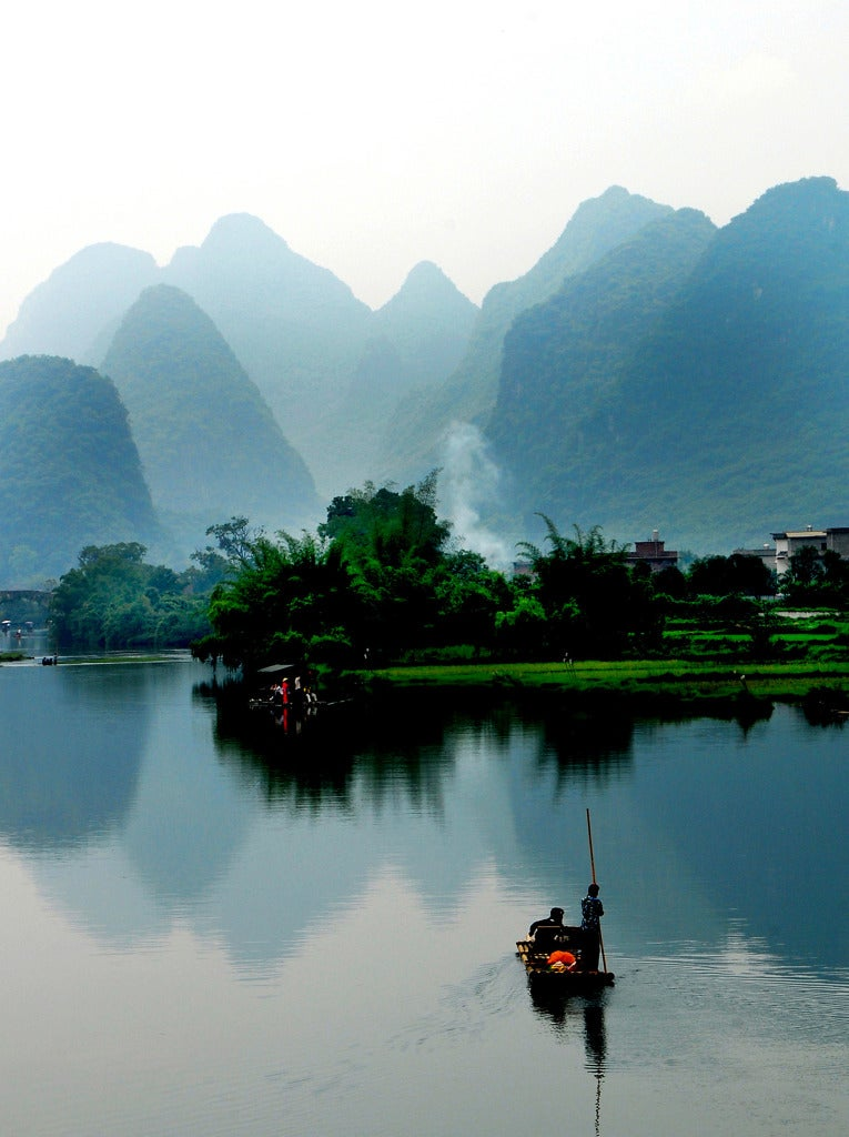 yangshuo guilin karst mountains