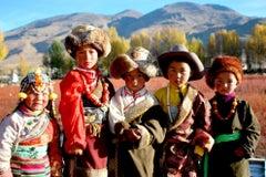 Photograph - Tibetan Children