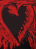 The Black & Red Heart