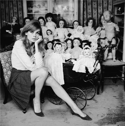 Terry O Neill Jean Shrimpton Dolls Photograph For