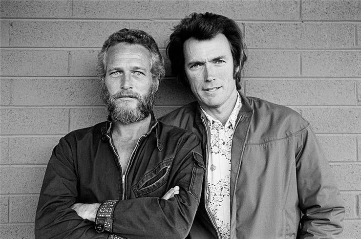 Terry o 39 neill paul newman and clint eastwood photograph - David s salon eastwood ...