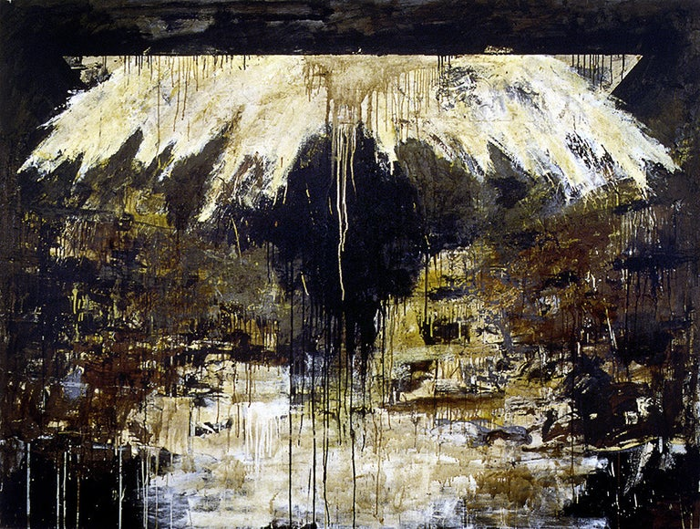 Paul Manes Abstract Painting - Ischia