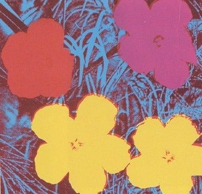 Andy Warhol - Flowers, 1970, Print at 1stdibs