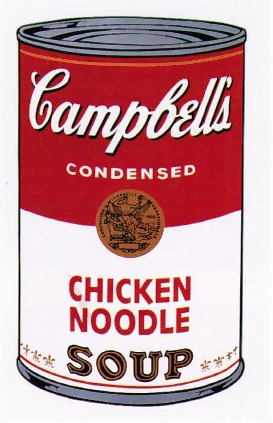 andy warhol campbell 39 s soup i chicken noodle 1968 print at 1stdibs. Black Bedroom Furniture Sets. Home Design Ideas