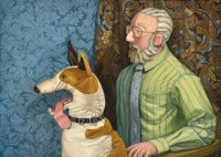 The Artist and His Dog